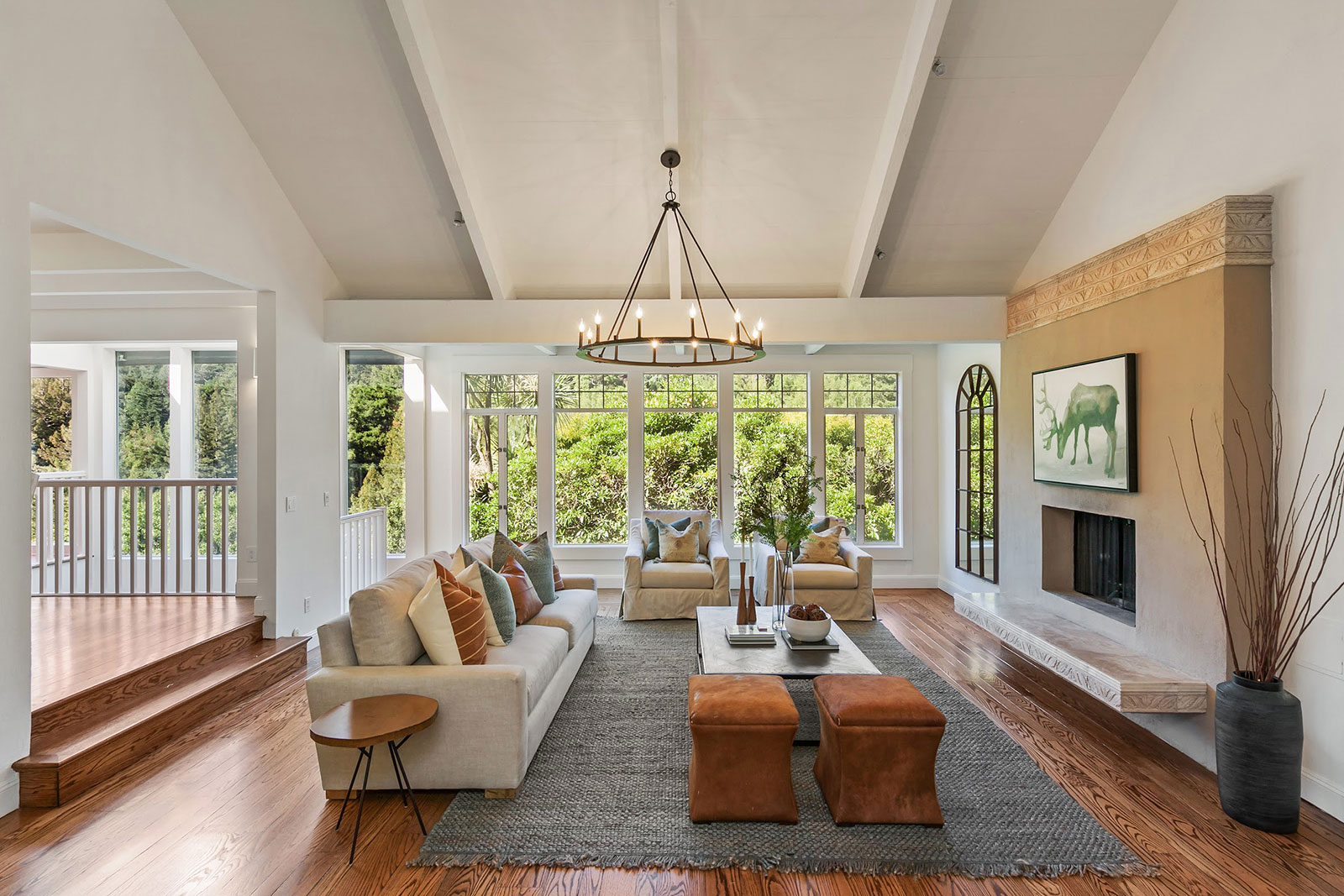 Mill Valley home living room