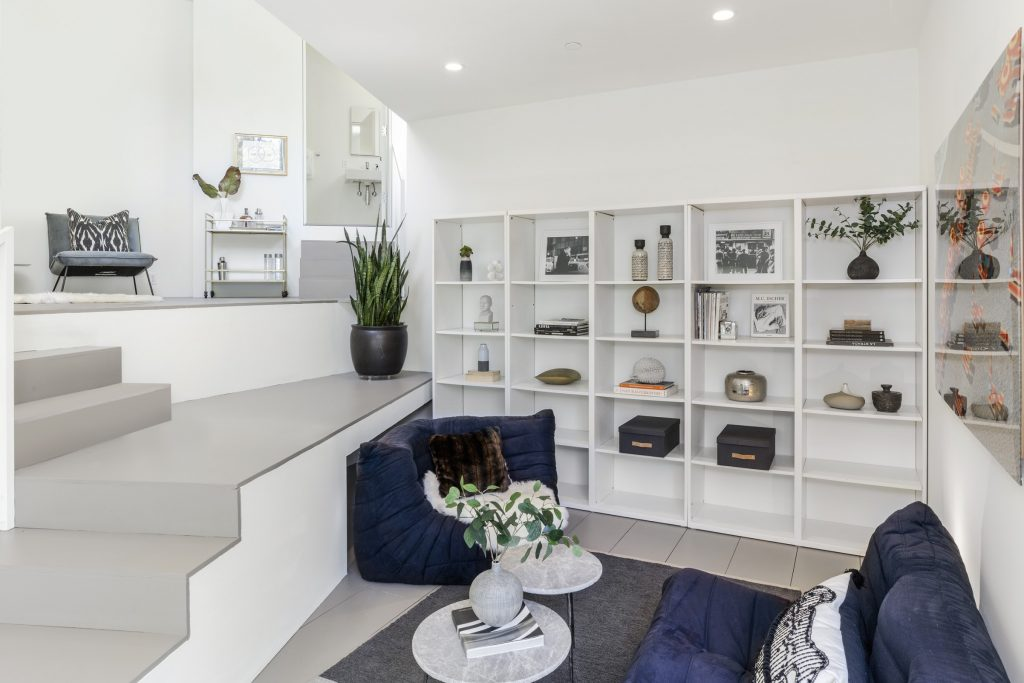 Home of the Week: Modern in Mill Valley den