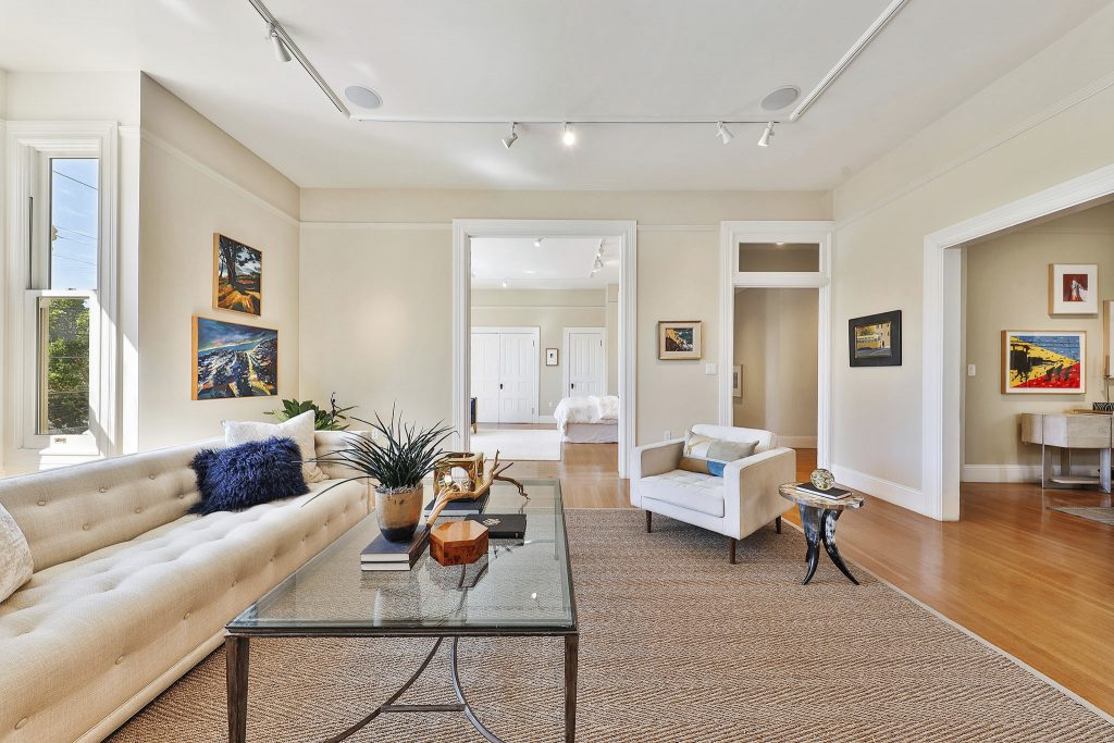 Grand Victorian condominium in Lower Pacific Heights