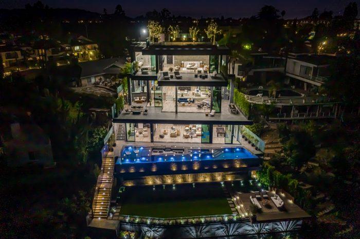 Extravagant modern emerges in Bel Air
