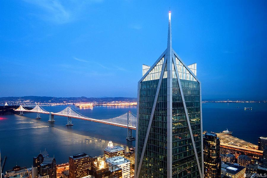 view of Bay Bridge - - Pacific Union.