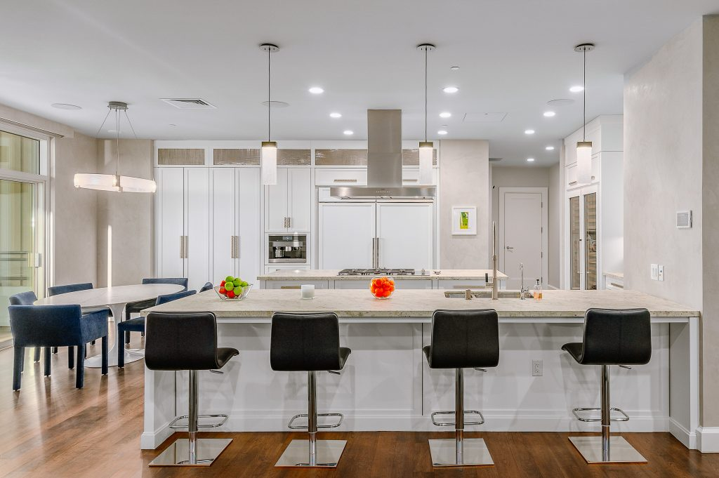 Home of the Week: Matthew Perry's astonishing LA sky palace kitchen