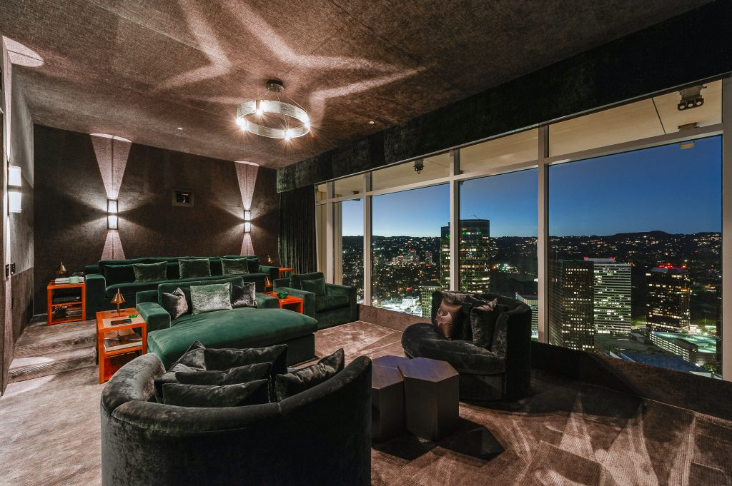 Home of the Week: Matthew Perry's astonishing LA sky palace skyline