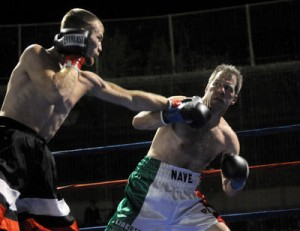 Former welterweight title-holder, Paul Nave