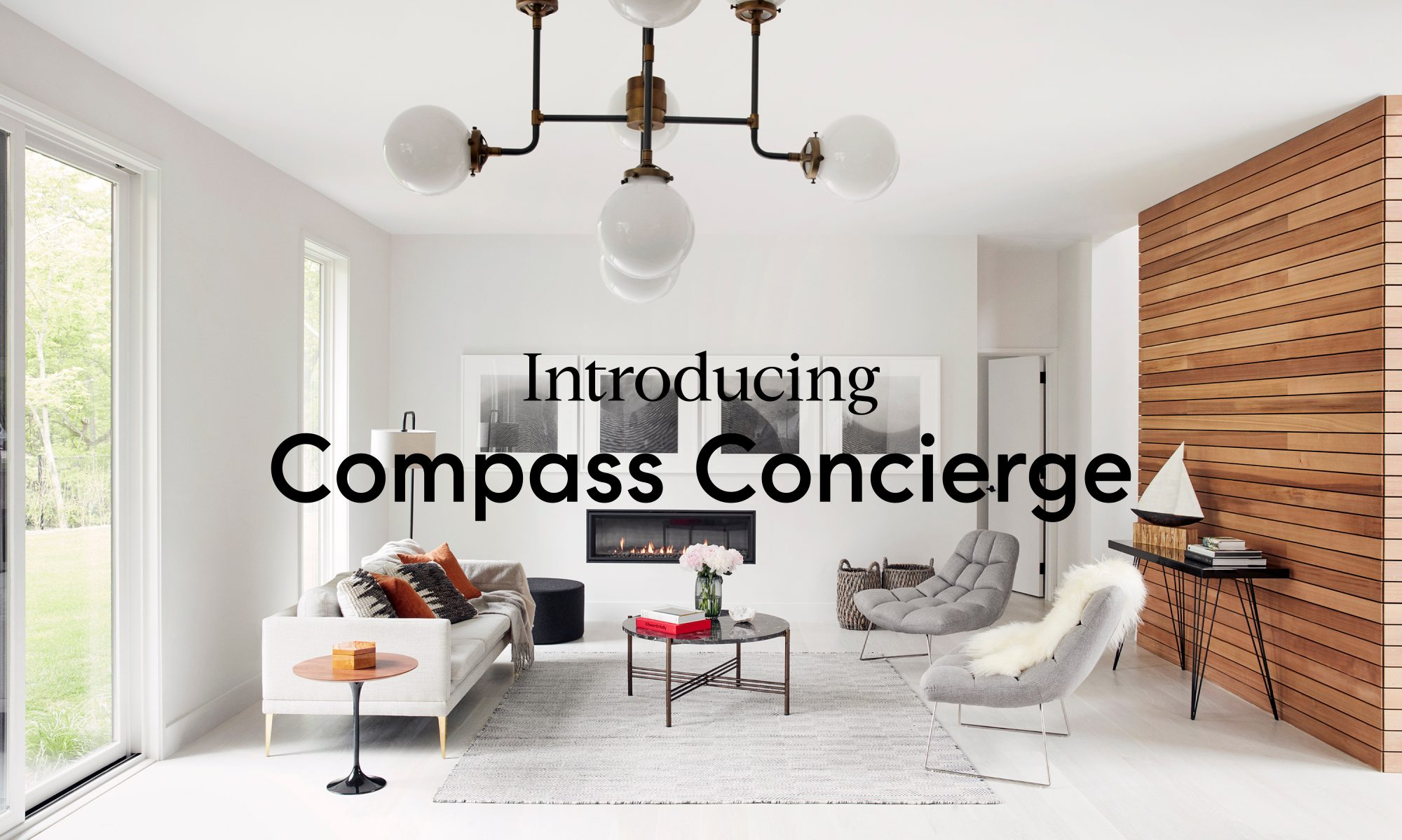 Ad for compass concierge