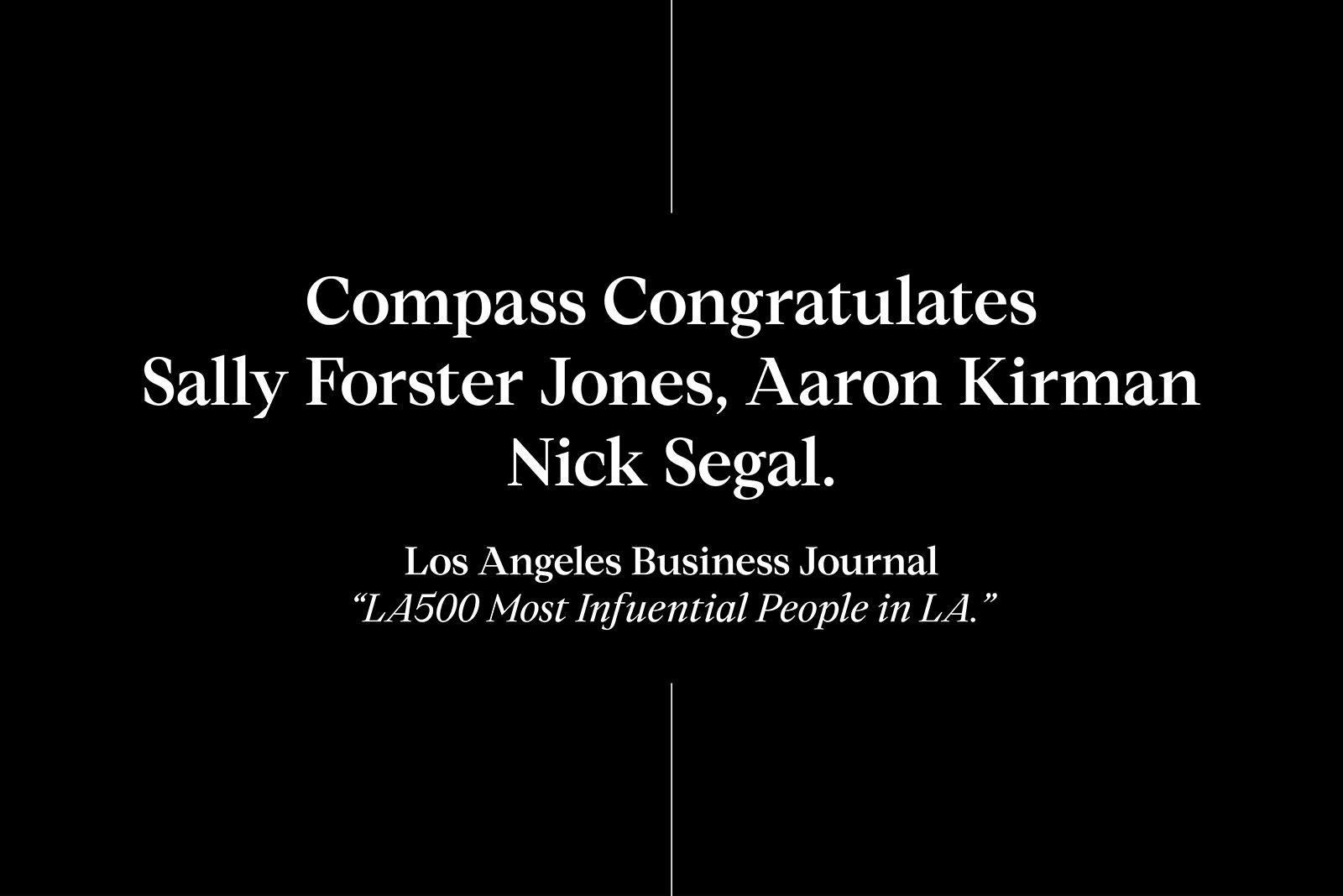 compass congratulations
