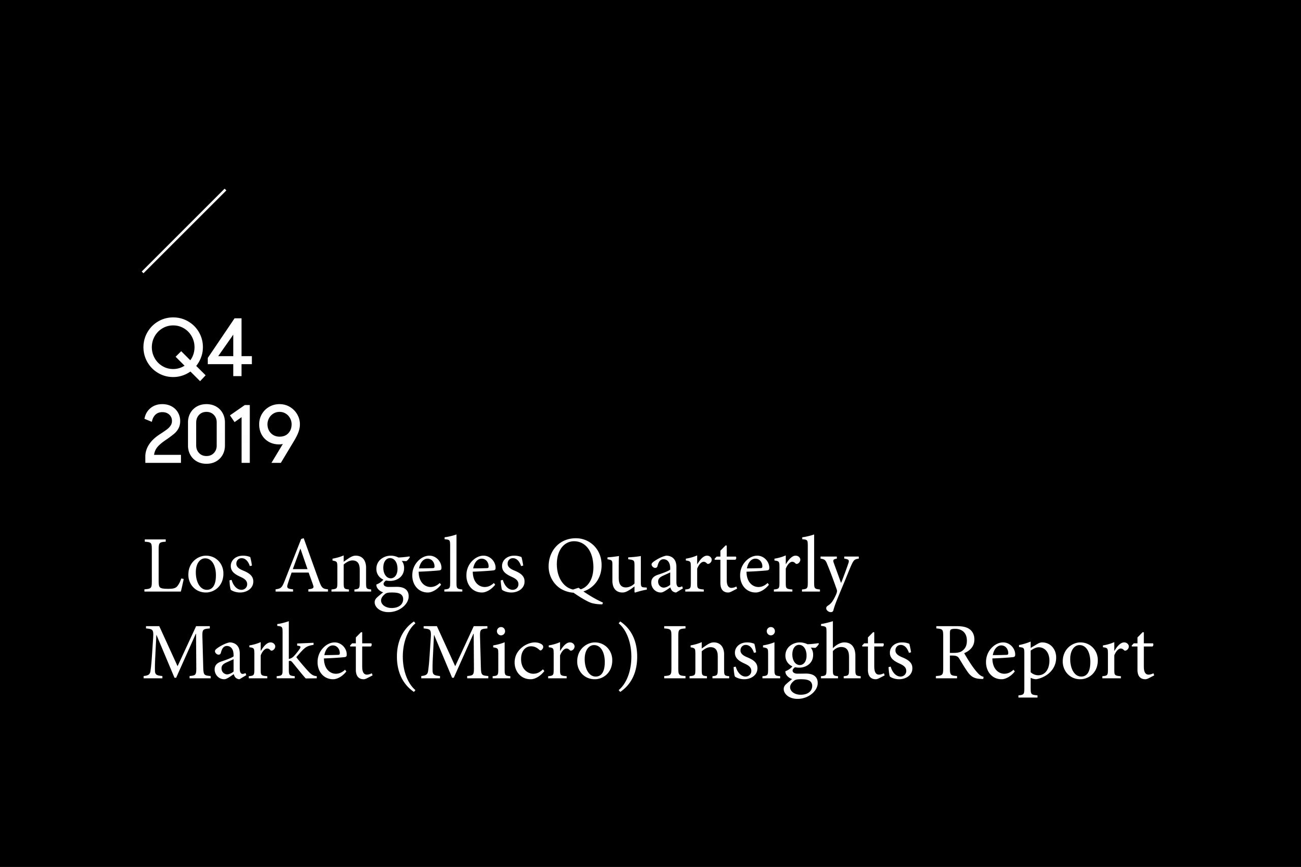 LA quarterly report