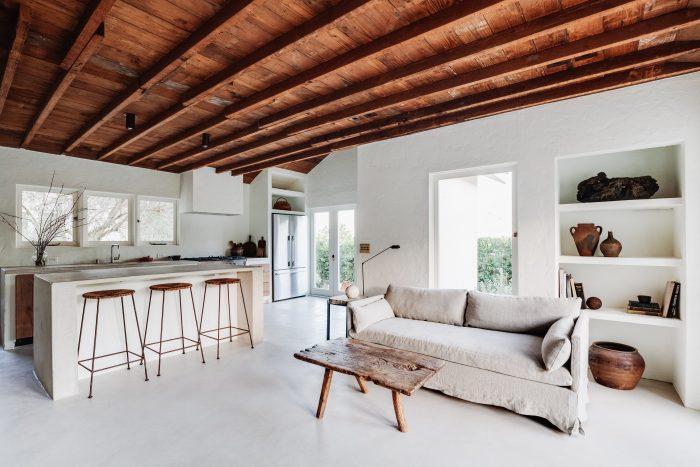Earthy minimalism graces Mini Inno's Koya House
