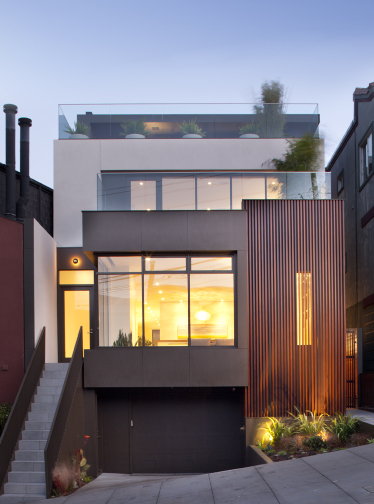 Home of the week noe valley modern pacific union real for Modern homes san francisco