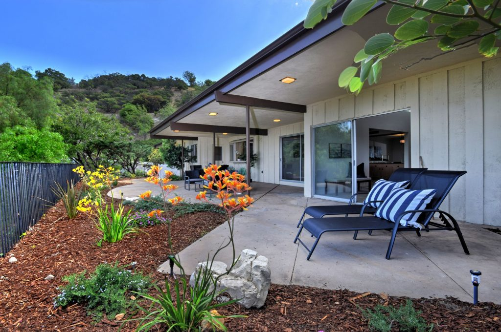 Exhilarating views from the Sherman Oaks hills patio