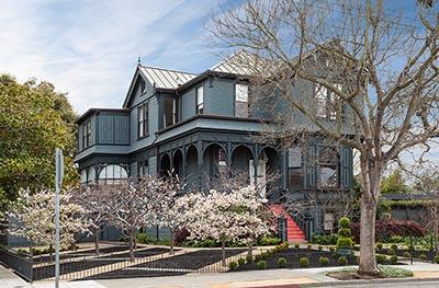 A home in Oakland's Rockridge neighborhood
