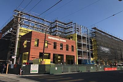 San Francisco building under construction