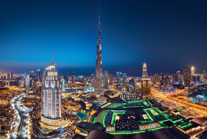A masterpiece of architecture: Burj Khalifa by Emaar