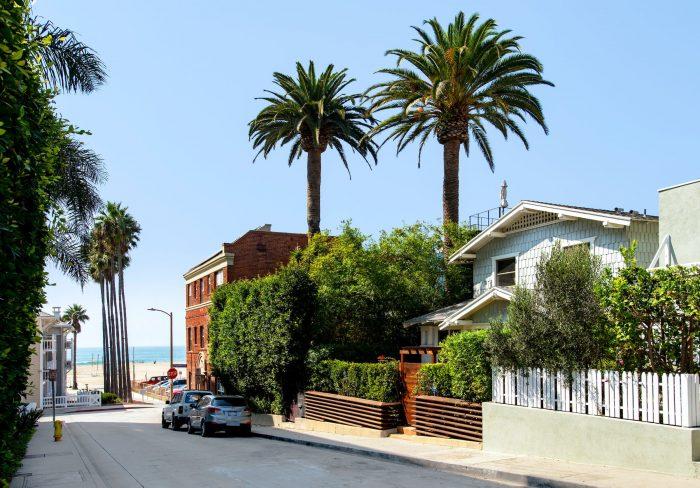Craftsman home in Santa Monica.