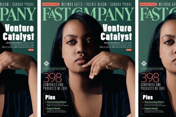 California Real Estate - Arlan Hamilton - Cover of Fast Company