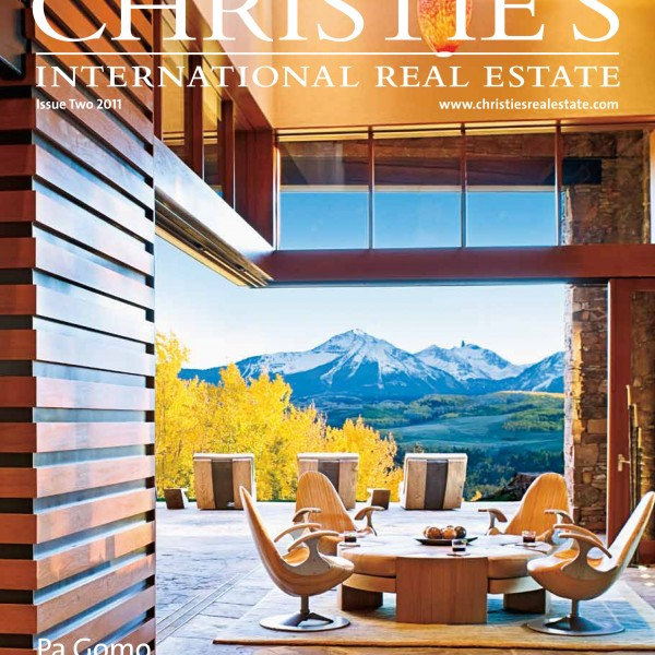 International Real Estate : Christie s international real estate magazine issue two