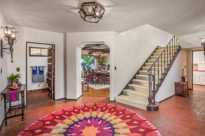 California Real Estate Blog - La Playa Estate Foyer