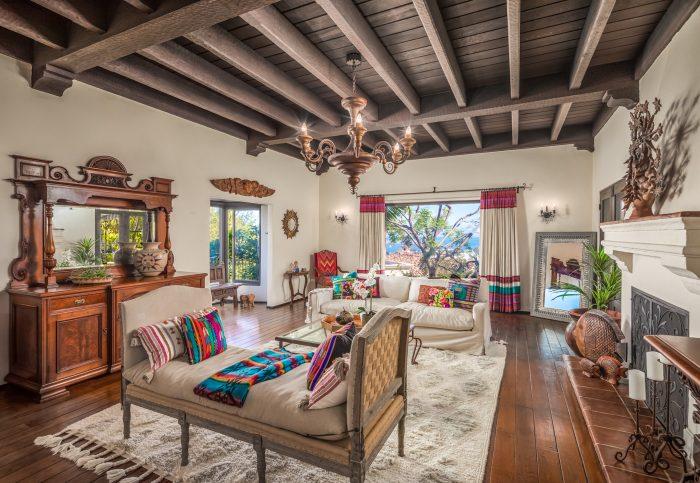 California Real Estate Blog - La Playa Estate Living Room