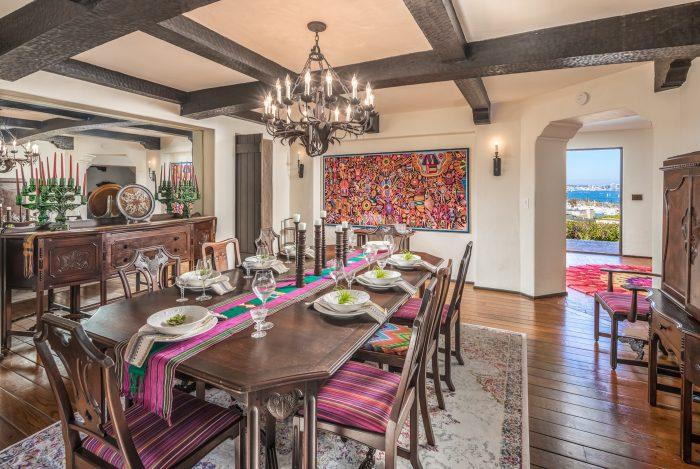 California Real Estate Blog - La Playa Estate Dining Room