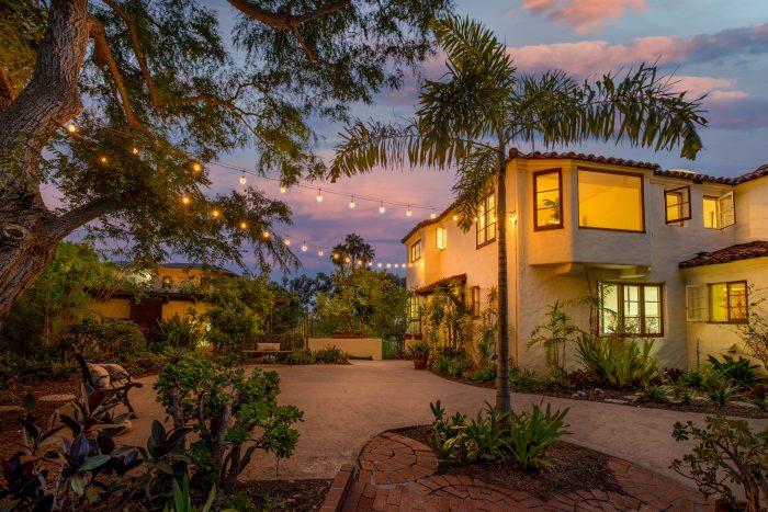 California Real Estate Blog - La Playa Estate Exterior View