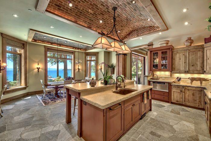 California Real Estate Blog - Lakefront Estate Kitchen