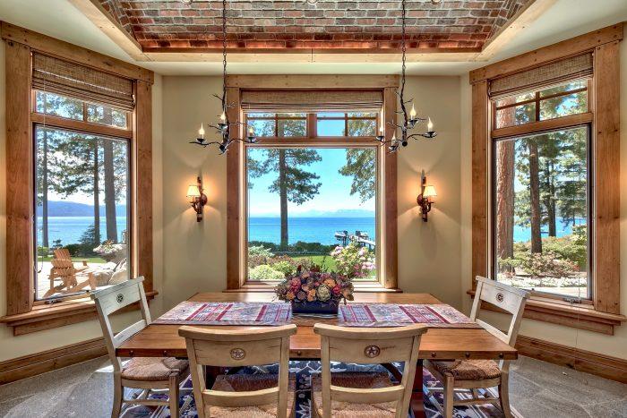 California Real Estate Blog - Lakefront Estate - Dining Room