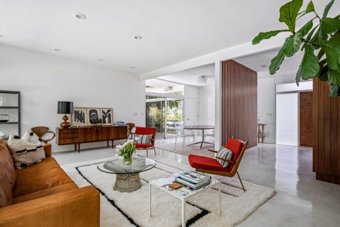 California Real Estate Blog - Mid-Century Modern Living Room