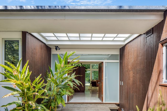 California Real Estate Blog - Mid-Century Modern Entrance