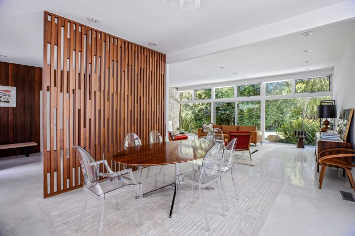 California Real Estate Blog - Mid-Century Modern Dining Room