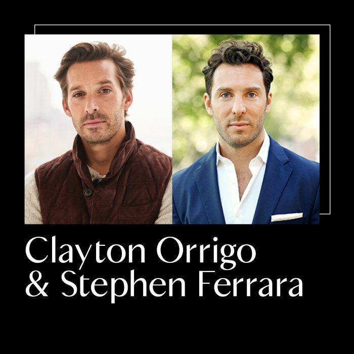 Clayton and Stephen