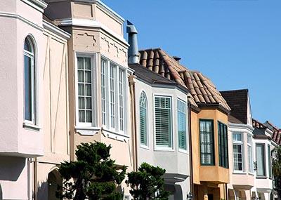 Contemporary homes in San Francisco