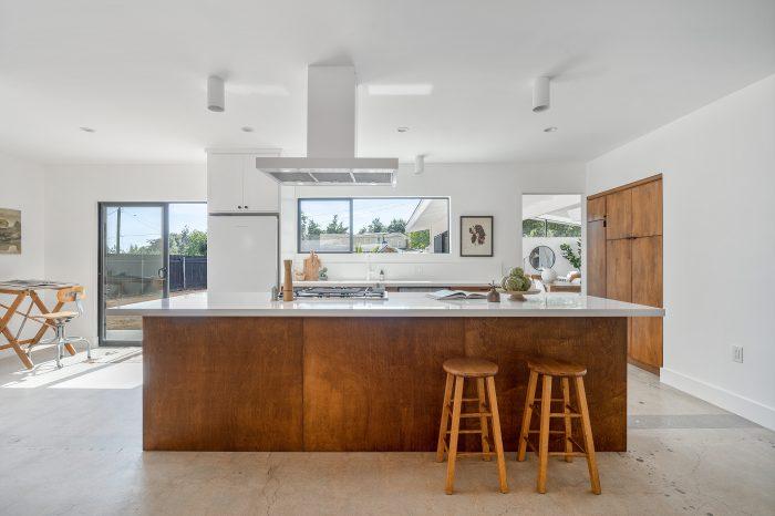 Kitchen of Altadena home.