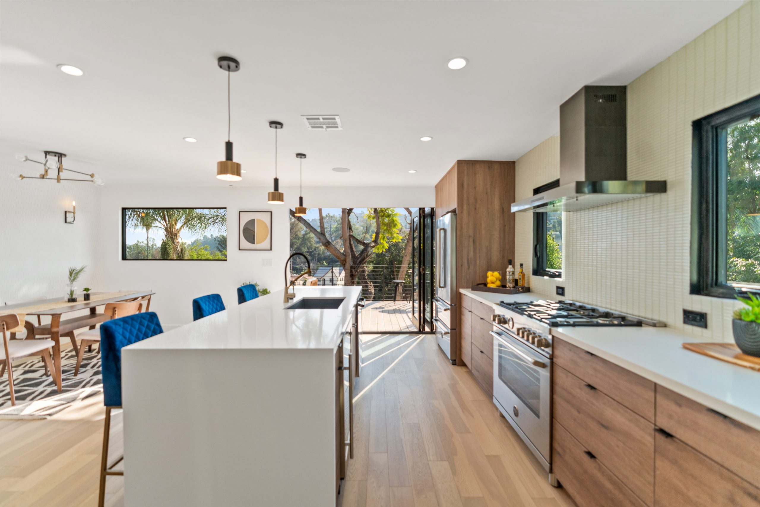 Airy Mid-Century with ADU in the heart of Highland Park