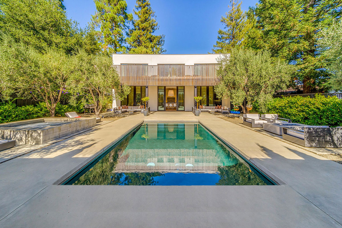 napa home with pool