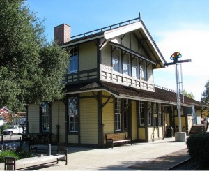 Danville's old railroad station is now a museum.