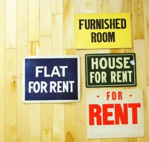 For Rent Signs