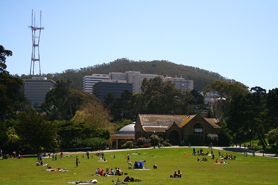 Golden Gate Park - Pacific Union