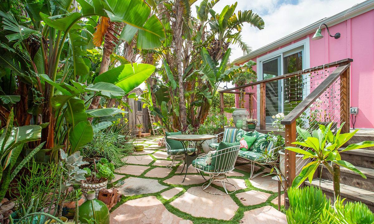 Bohemian Malibu garden table