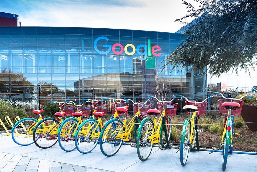 Bikes at Google