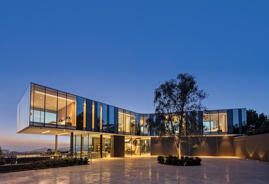Bel Air modern mansion