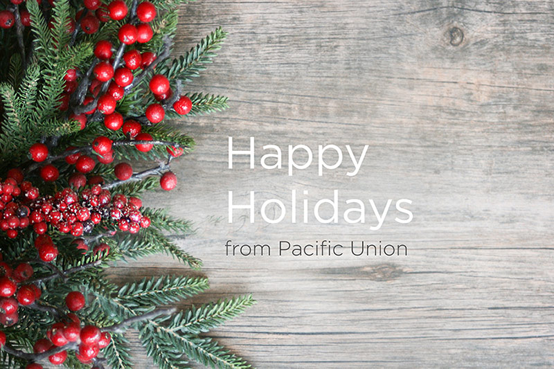 Holiday greeting - Pacific Union