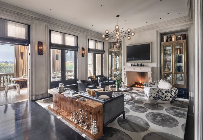 Modern grandeur in coveted Presidio Terrace enclave