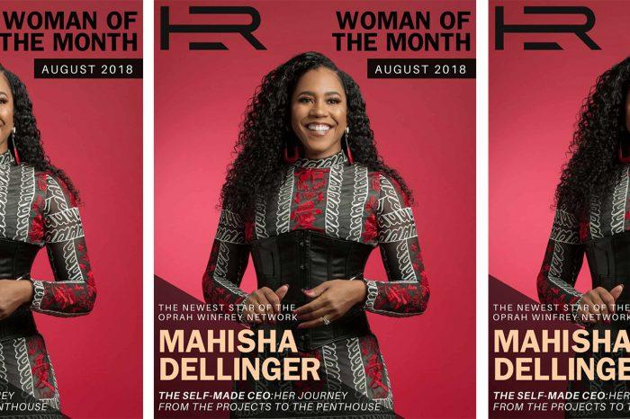 Mahisha Dellinger - Cover of HER Magazine