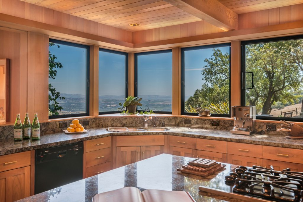 Home of the Week: View-swept retreat overlooking Sonoma kitchen