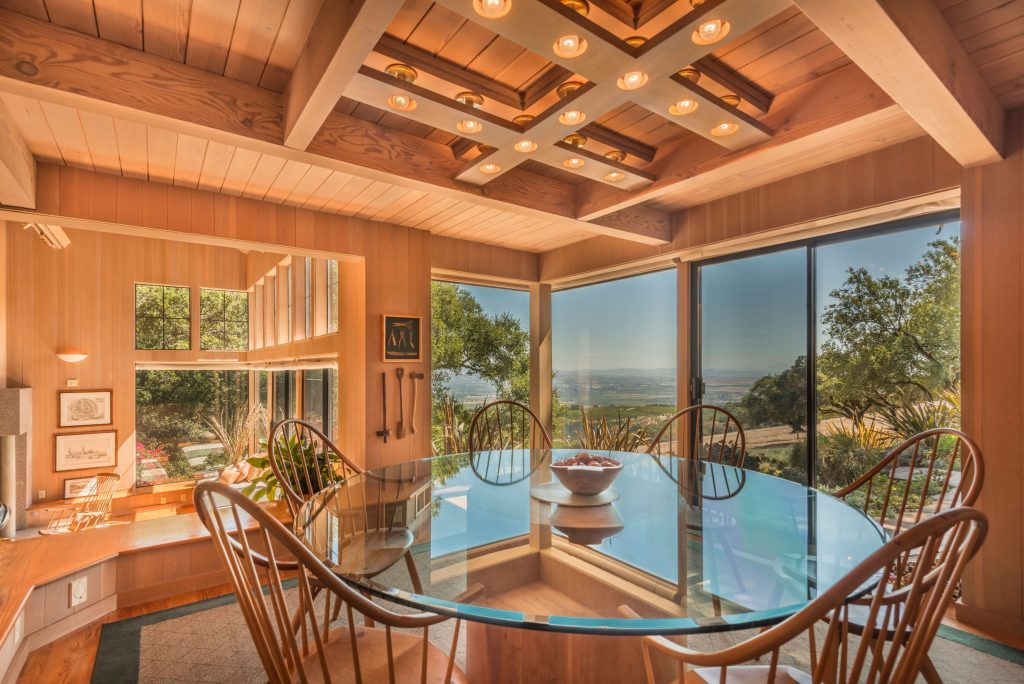 Home of the Week: View-swept retreat overlooking Sonoma dining room