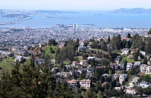 View of Oakland from Skyline Boulevard
