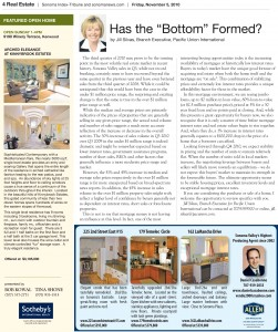 Article about the bottom