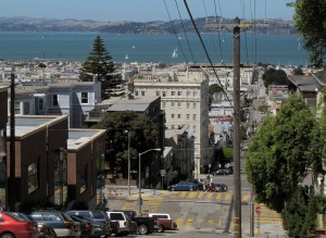 The view from Pacific Heights