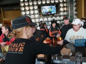Beer and wine joints for the Giants fan