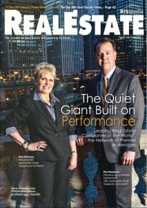 April 2013 cover of Real Estate Magazine